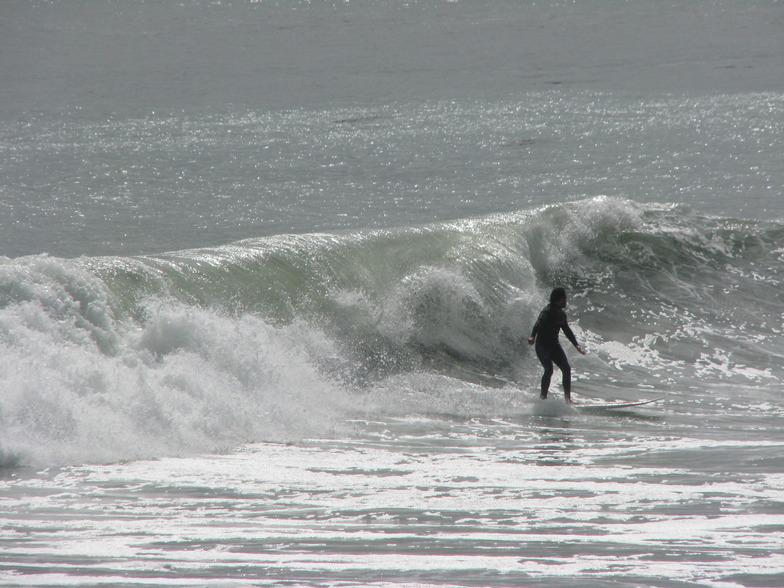 Eastbourne surf break