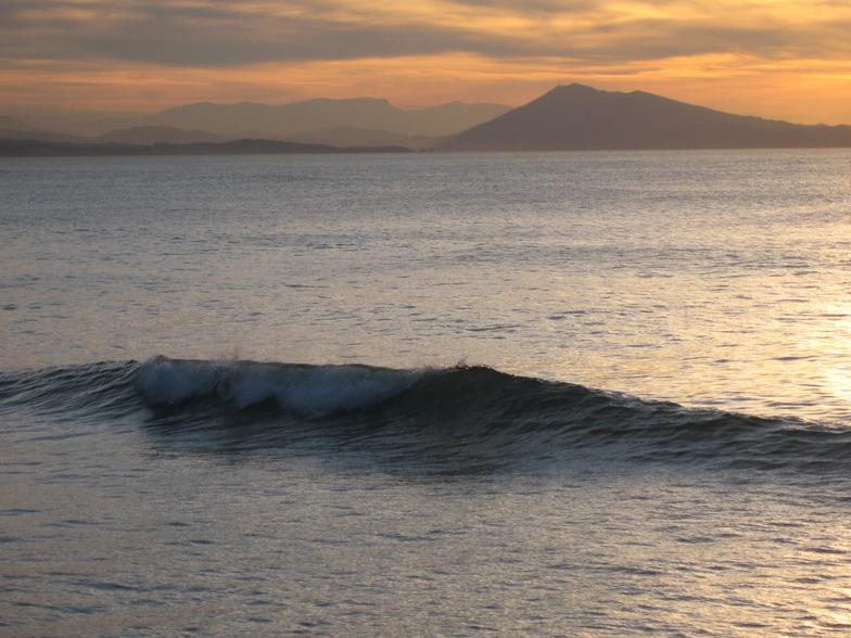 Biarritz - Cote des Basques surf break