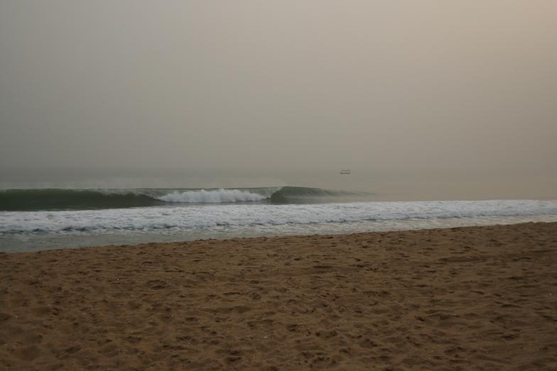 La Routes des Pêches surf break