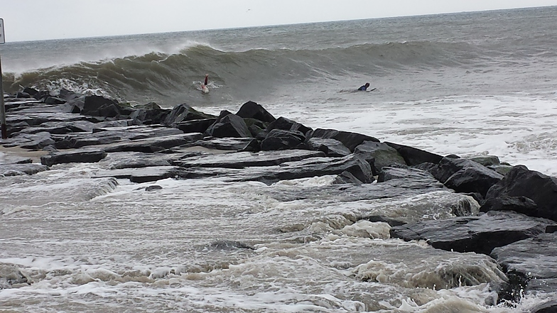 The Cove Cape May surf break