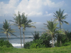 Balian break - view from Pondok Pisces photo