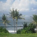 Balian break - view from Pondok Pisces