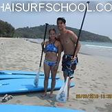 www.thaisurfschool.com., Rayong Mae Ramphung Beach