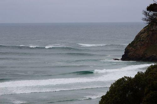 Liquid Gold - the Cove, Otago Peninsula - Allans Beach