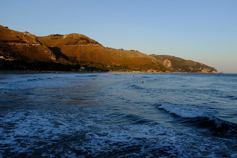Swell in Italy West Coast, San Agostino (Gaeta)