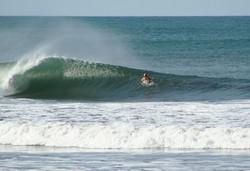 Looking into the barrel, El Transito photo