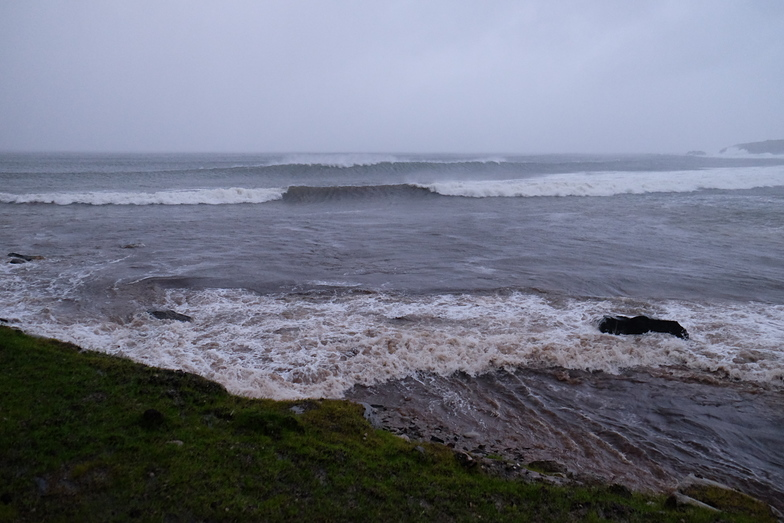 Big Waves at Doogort, Achill Island