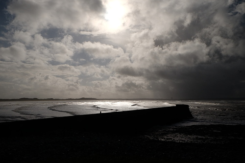 Inishcrone First Storm of Autumn 2017
