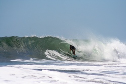 Mike in the barrel!, El Transito photo