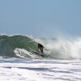 Mike in the barrel!, El Transito