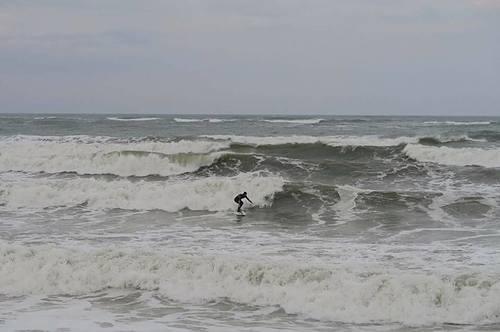 Big swell, Mangalia
