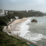 Storm Ophelia, Tenby North Beach, Tenby (North Beach)
