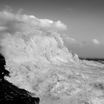 Giant Waves in Porthcawl, Coney Beach