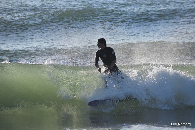 The Point surf break