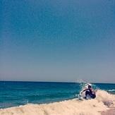 Skimboarding on Vilano, Vilano Beach