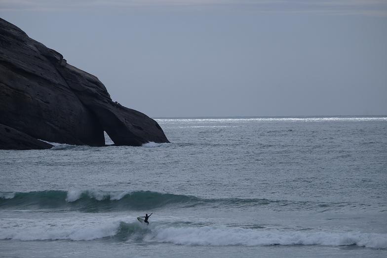 Local Surfer, Wharariki Beach