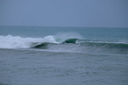 Slotted at The Spit, Mahia Spit