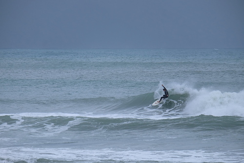 A small wave at Boat Harbour