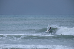 A small wave at Boat Harbour photo