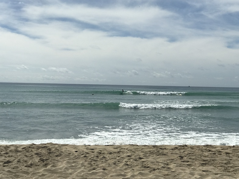 Haubush surf break