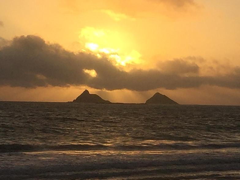 Kailua Beach surf break