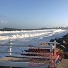 Back wash, Stockton Beach