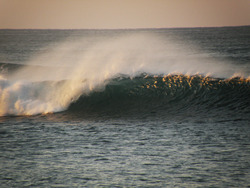 Early morning, Rio Nexpa photo