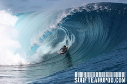 TEAHUPOO CLEAN BARRELS..... (TAHITI) photo