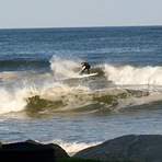 Benny Nadeau at home, photo jim ready, Moody Beach