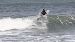 Surfer: Liam McCardle, Otaki Beach photo