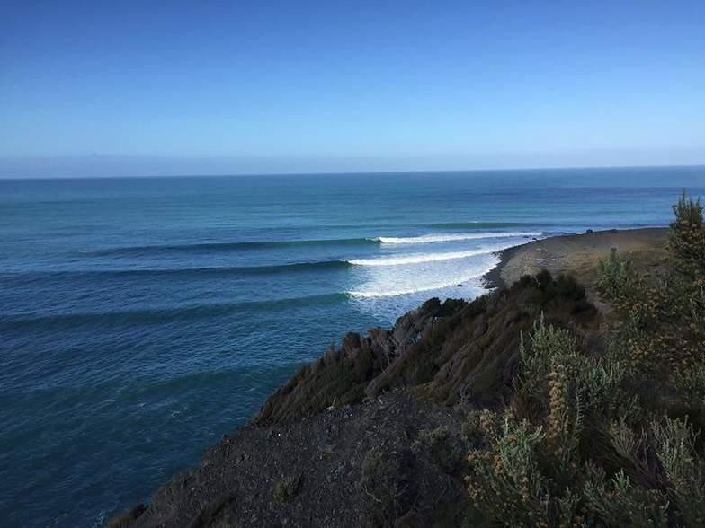 White Rock surf break