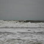 Surf Kayaking. Overhead and dumping.., Llantwit Major