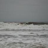 Surf Kayaking. Overhead and dumping.., Llantwit Major