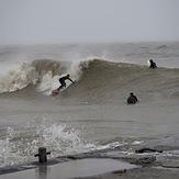 Andrew surfing Bruce, Port Bruce