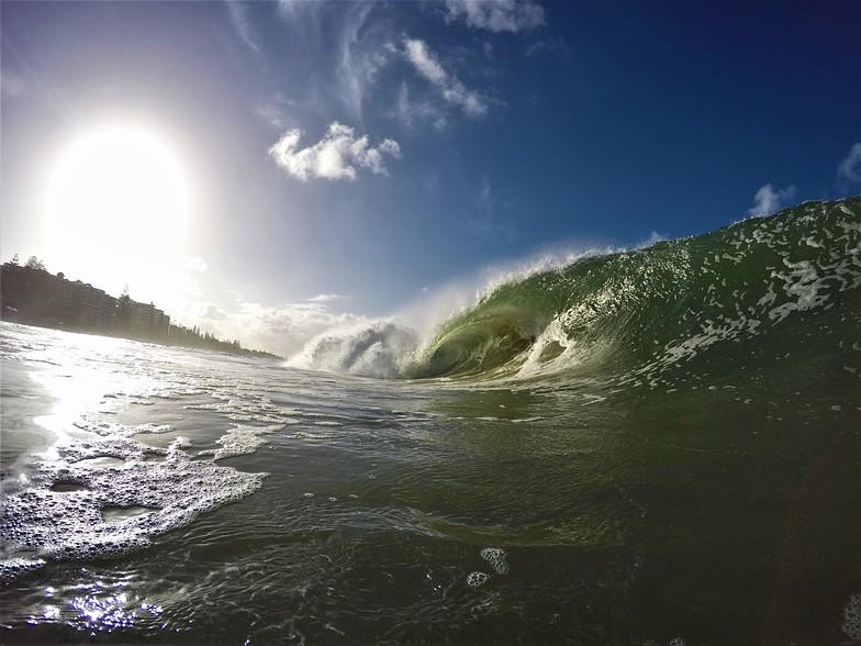 Mooloolaba surf break