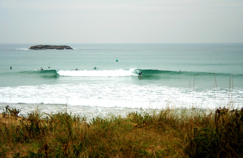 Playa de Lanzada surf break