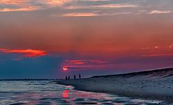 Sunset at Demo, Democrat Point Robert Moses photo