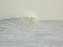 big waves, Petacalco photo