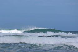 Lefties Barrelling, Baylys Beach photo