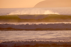 Evening Surf at Baches, Whatarangi Bombora photo