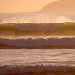 Evening Surf at Baches, Whatarangi Bombora