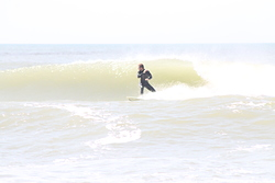 Surfing, Pinamar photo