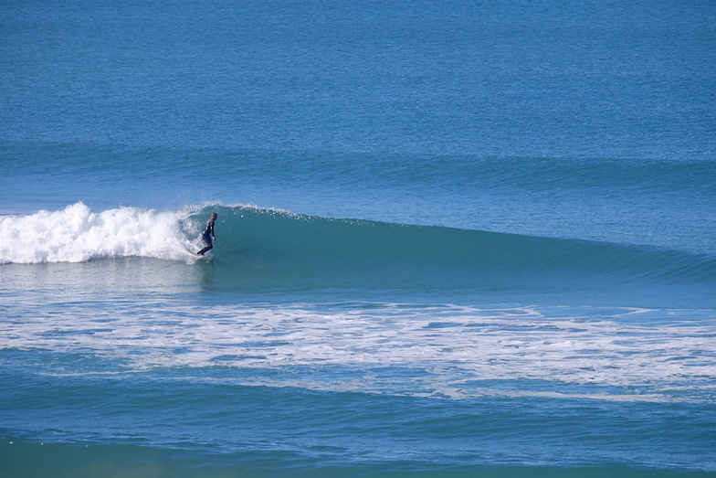 Wainui Bay Chalet surf break