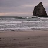 Main beach, Wharariki Beach
