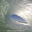 Lancelin barrel view