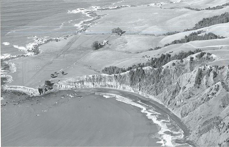 Shelter Cove, cir. 1946,  c. Mario Machi, Deadman's