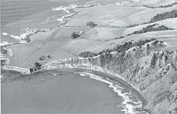 Shelter Cove, cir. 1946,  c. Mario Machi, Deadman's photo
