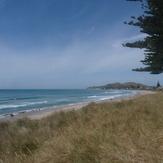 Small summer swell  - Wainui, Wainui Beach - Pines