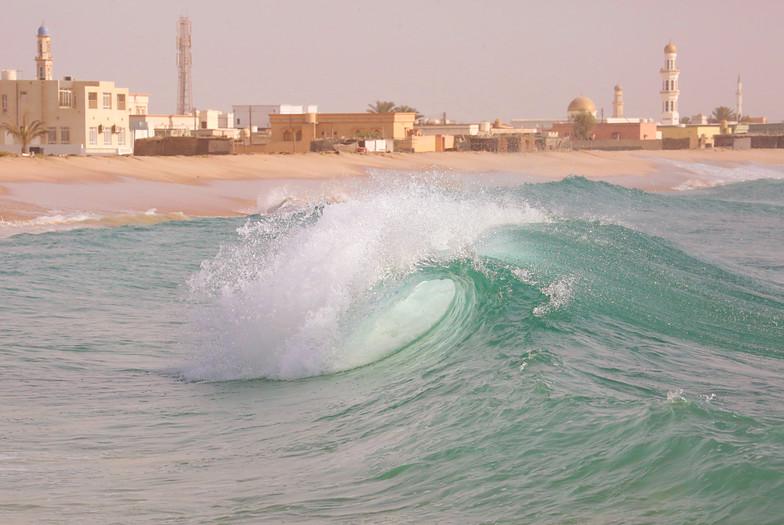 Ras Al Hadd surf break