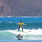 Corralejo Fuerteventura, Bajo el Medio